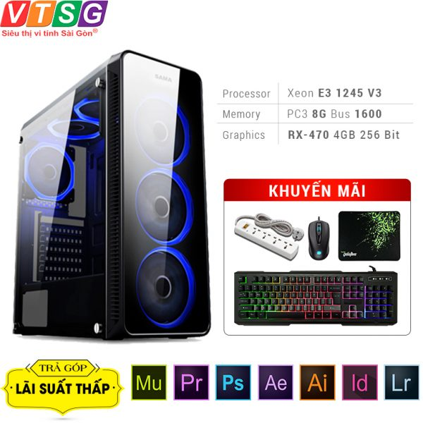 PC gaming thiet ke