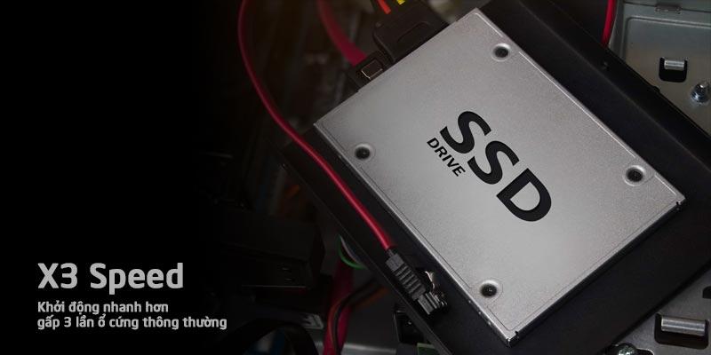 SSD khởi động nhanh hơn gấp 3 lần